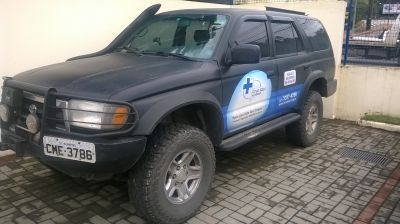 Hilux SW4 off road