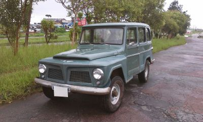 Rural Willys 4x4 1966