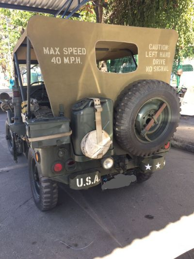 FORD JEEP MILITAR ORIG