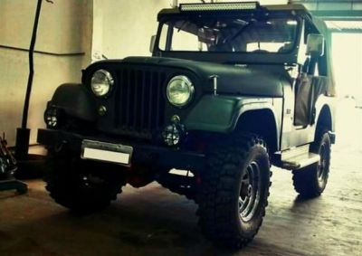 Ford Willys 1958 Verde Mi