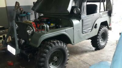 JEEP WILLYS 59 MILITARIZA