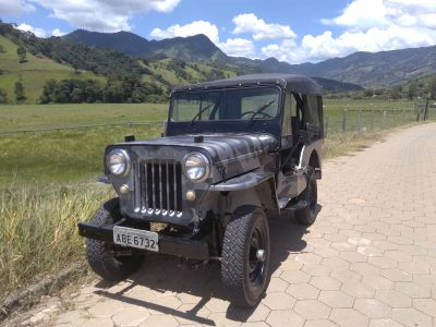 Vendo jeep 1953 ORIGINAL