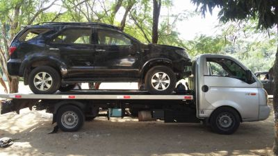 Chassi completo Hilux SW4