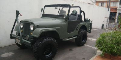 Jeep Willys todo original