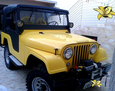 Jeep Willys  Impecavel!