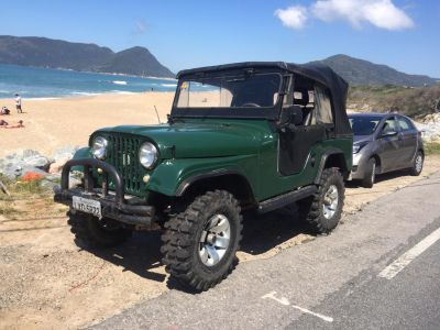 Jeep Willys 1964 lindo