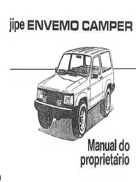 Manual do Proprietário Camper 1992